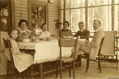 Tea at the dacha, 1900s, Russia. Культура русского чаепития