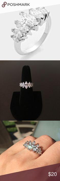 Spotted while shopping on Poshmark: CZ Marquise Ring! #poshmark #fashion #shopping #style #Jewelry