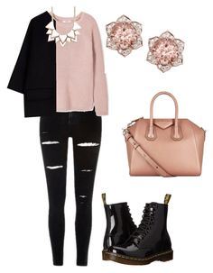 Macaron Pink by tamara-katharina on Polyvore featuring polyvore, fashion, style, MANGO, Marni, Dr. Martens, Givenchy, Full Tilt and clothing
