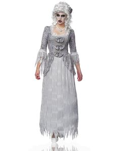 Womens Sexy Ghost Zombie Dead Spirit Lady Witch Classic Halloween Costume L Classic Halloween Costumes, Halloween Dress, Halloween 2020, Spirit Halloween, Spooky Halloween, Halloween Makeup, Happy Halloween, Costume Craze, Costume Shop