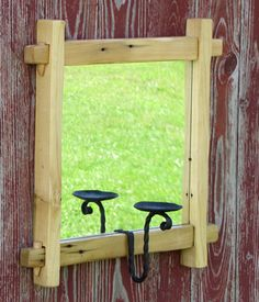 Handmade Mortise & Tenon Furniture, Hand Forged Decorative Metal, Hand Forged Horseshoe art, Handmade Goats Milk Soap, Handmade 100% Soy Candles & Tarts & more... Rustic, primitive, wilderness friendly yet classy and elegant for any room. 100% Made in the USA by a christian family living traditionally in the Idaho Wilderness. Check out www.RockingGTDesigns.com
