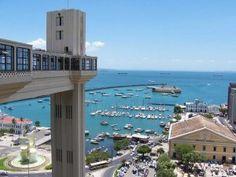 Salvador City, Bahia, Brazil.