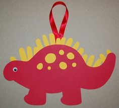 CLEARANCE  Dinosaur Handprint Keepsake Craft Kit by CraftsForKids, $4.00