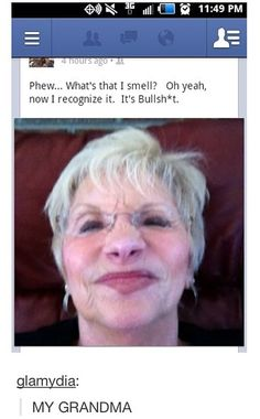 I wish my Grandma was this cool...
