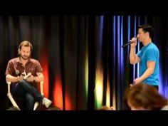And here's the YouTube video...  Richard Speight Jr. and Matt Cohen act out 50 Shades of Grey