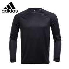 54.86$  Buy here - Original New Arrival 2017 Adidas D2M LONGSLEEVE Men's T-shirts Long sleeve Sportswear   #buyonlinewebsite