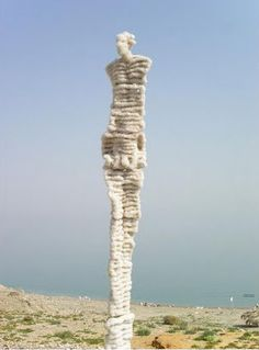 Dead Sea Salt Sculptures by Anat Eshed Goldberg