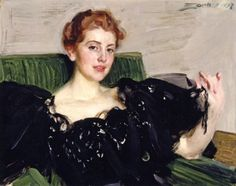 Lucy Turner Joy - Anders Zorn - 1897