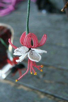 Beaded flower
