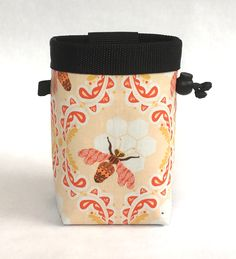 Honey bee chalk bag