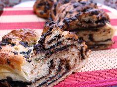 Brie com Goiabada: Pão Trançado de Chocolate
