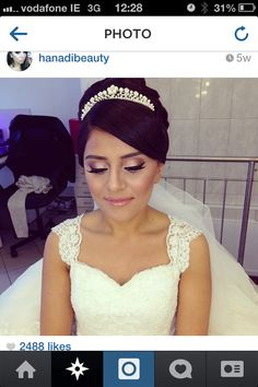 Wedding makeup idea
