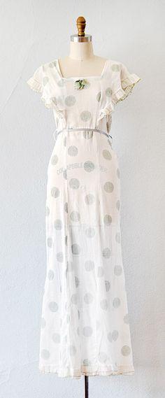 vintage 1930s PLANTENTUIN dress by Adored Vintage #1930s #30s #vintagedress