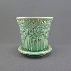 Image detail for -Darling McCoy pottery planter / plant pot by PrairieDecArts
