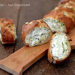 Baguette farcie Mozzarella - Epinards