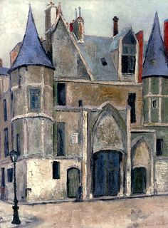 Hôtel De Sens à Paris by Maurice Utrillo Handmade oil painting reproduction on canvas for sale,We can offer Framed art,Wall Art,Gallery Wrap and Stretched Canvas,Choose from multiple sizes and frames at discount price. Paris Painting, Oil Painting On Canvas, Canvas Art Prints, Van Gogh, Maurice Utrillo, Visual And Performing Arts, Amedeo Modigliani, Marc Chagall, Post Impressionism
