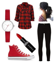 """""""Untitled #19"""" by amolamiavita on Polyvore featuring Full Tilt, Frame, Converse, Smashbox and Skagen"""