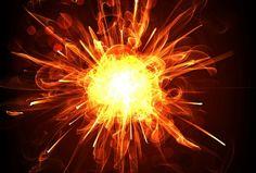 宇宙の始まり、ビッグバンは1兆度の火の玉。