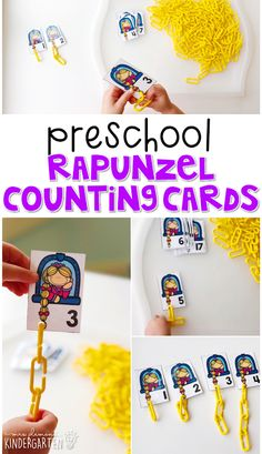 Preschool: Fairy Tales {Week 1 Fairy tales are a perfect springboard for little ones imaginations. Rhyming Preschool, Nursery Rhymes Preschool, Preschool Themes, Preschool Lessons, Princess Activities, Fairy Tale Activities, Disney Activities, Stem Activities, Fairy Tale Crafts