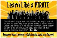 Learn Like a PIRATE:  http://www.learnlikeapirate.com/