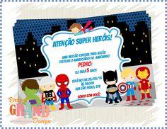 Convite Super Herois 2