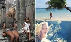 Student boasts to friends about trekking through Asia, visiting stunning beaches, tasting local cuisine and meeting Buddhist monks -- using FAKE photos taken in her home town