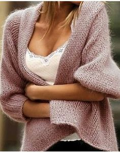 A shawl with sleeves!!! This would be perfect if it had long sleeves or on top of a long-sleeved shirt.
