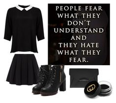 """Whats Your Fear?..."" by thepsychopath ❤ liked on Polyvore featuring Lipsy, Polo Ralph Lauren, Givenchy and Gucci"