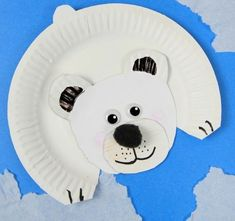 Easy addition to your study of arctic animals for kids is this fun polar bear craft! This is great for your habitats unit study in your winter classroom. The post Polar Bear Paper Plate Craft appeared first on Easy Crafts. Kids Crafts, Animal Crafts For Kids, Winter Crafts For Kids, Toddler Crafts, Projects For Kids, Craft Projects, Easy Crafts, Craft Ideas, Creative Crafts
