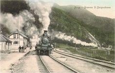 Bromma stasjon ca. 1910 Bromma, også kjent som Børtnes, er et lite sted i Nes i Hallingdal på vestsida av Hallingdalselva, 13 km sør for Nesbyen. Bromma er egentlig navnet på den innsjø-lignende delen av elva som renner forbi, også kalt Brommafjorden, og ble mer vanlig å bruke som navn på stedet etter at det ble navn på den nå nedlagte jernbanestasjonen på Bergensbanen, som ligger på østsida av elva