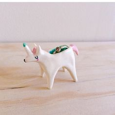 Ceramic Ring Holder - Unicorn