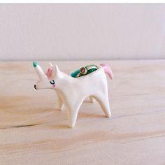 Ceramic Ring Holder - Unicorn