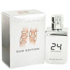 24 Platinum Oud Edition By Scentstory Eau De Toilette Concentree Spray 3.4 Oz
