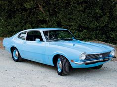 The 1st!  1972 Ford Maverick