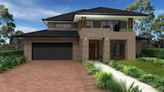 hawthorn brick home exterior hawthorn brick silver window frame Dream House Exterior, Exterior House Colors, Dream House Plans, Exterior Paint, String Lights In The Bedroom, Brick Colors, Facade House, House Exteriors, Houses