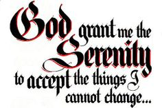 The Serenity Prayer