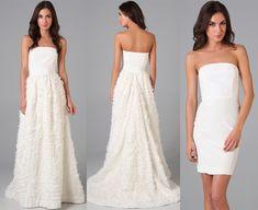 Dois Vestidos de Noiva | Usar ou Não