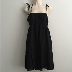 Black Dress NWT/Adorable Stretchy Black Dress/Excellent Condition/From waist to bottom is about 25 Inches Old Navy Dresses