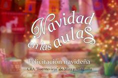 """Clásico y original, así es el Belén de plastilina con el que desde el Colegio Rural Agrupado """"Fuente Vieja"""" en Mira y Aliaguilla nos felicitan este año la Navidad."""