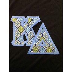 #kappadelta #sorority #fraternity #newletters #customgreek #somethinggreek Create your own in our letter design center!