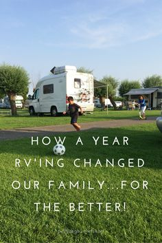 A year RVing through Europe with the two kid-foodies forever changed all our lives. We wouldn't have had it any other way!