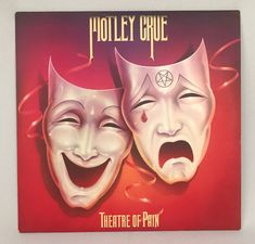 Motley Crue Theatre of Pain Vinyl 1985 Asylum Records #Unbranded