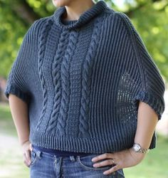 Waterflow poncho covers you up from chilly autumn/winter winds. Top-down…