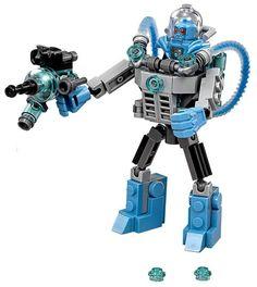 Lego Batman Movie Mr. Freeze ice mech