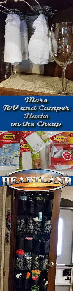 9 More RV and Camper Hacks on the Cheap | Heartland RVs
