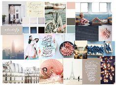 Blog Boss Oct/Nov 2014 e-course, color season mood board by Pedi26
