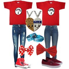 Best friends outfit. I'm thing one, your thing two @hadleyschmidt