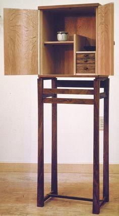 Standing cabinet by James Krenov