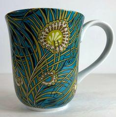 LIBERTY OF LONDON for Target Stoneware Mug Peacock -  eBay