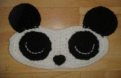 Bits & Bobbles : Panda Sleep Mask  (Free Pattern)